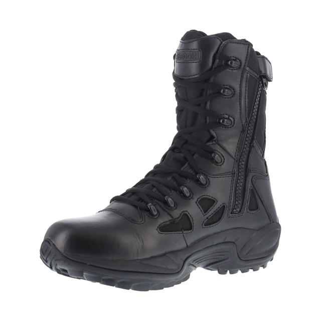 reebok duty boots. reebok waterproof tactical duty boots side zipper soft toe rb8877